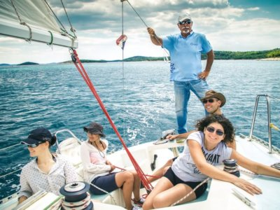 sailing and croatian language school