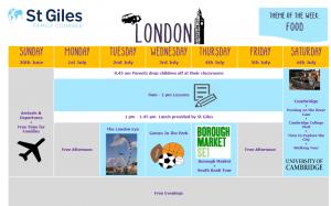 Obiteljski tečaj engleskog jezika - St. Giles, London
