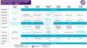 Ljetna škola engleskog jezika Oxford Spires za dob od 10 do 17 godina 2021.