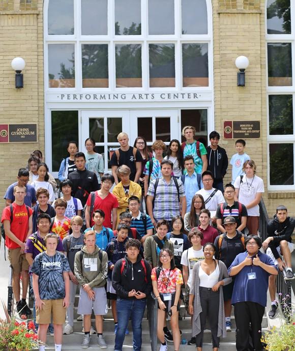Srednja škola: Boarding school - Wasatach Academy, Mount Pleasant, Utah